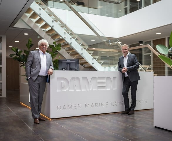 Damen Marine Components (DMC) celebrated the official opening of its new headquarters in Hardinxveld-Giessendam, the Netherlands