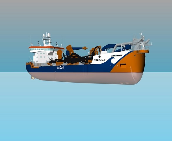 Damen Marine Components wins steering & rudder systems order for three new trailing suction hopper dredgers