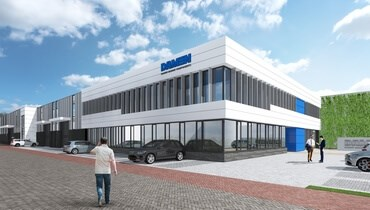 In terms of architecture, the design of the new premises will clearly show the company's connections to the Damen Shipyards Group.