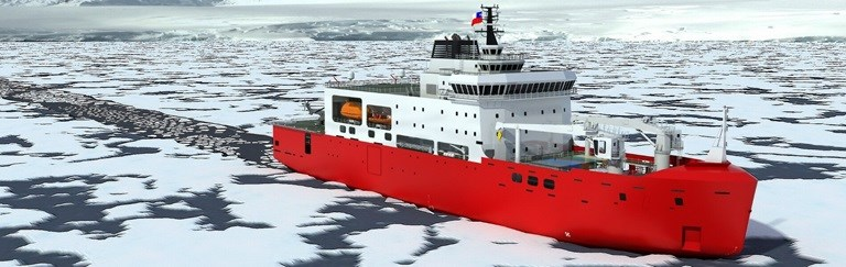 111-metre vessel will undertake roles that include Logistic Support, Search and Rescue (SAR) and Scientific Research, south from the Antarctic Polar Circle.