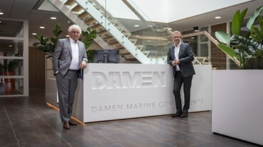 : In a festive atmosphere Damen Marine Components (DMC) celebrated the official opening of its new headquarters in Hardinxveld-Giessendam
