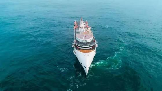 SunStone's fifth Infinity-class 200 pax polar expedition cruise ship sea trial