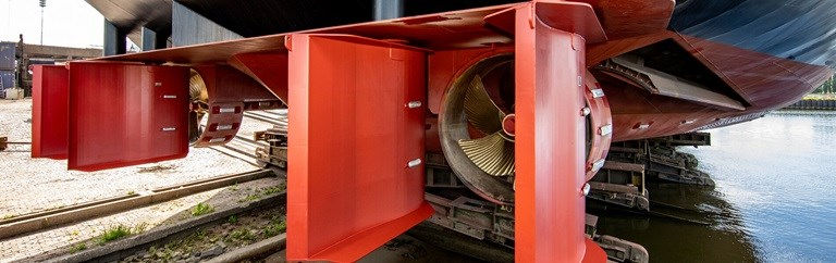 FLEX Tunnelsysteem van Damen Marine Components
