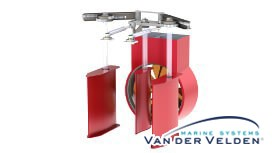 3SYS (3 Rudder System Original VDV 70'S) is only suited for single propelled vessels and designed for inland waterway navigation where manoeuvring is most important.